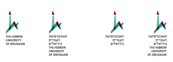 Hebrew University Vertical logo