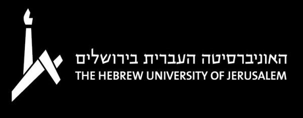 Black and White logo with dark background
