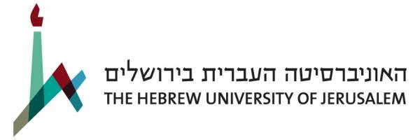 Hebrew University's Horizonatl logo